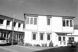 Verwaltungsgebäude heute